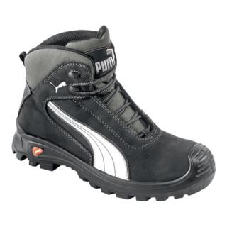 Sicherheitsstiefel Cascades Mid Gr.40 schwarz/weiß Leder S3 HRO SRC EN20345