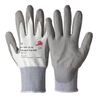 KCL Polyurethanhandschuhe Camapur Cut 620 weiß/grau