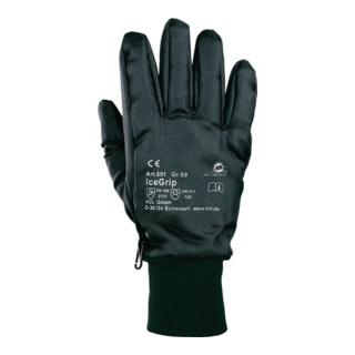 KCL Handschuhe Ice-Grip 691 EN511/388 Kat. II Nylon Thinsulatefutter PVC
