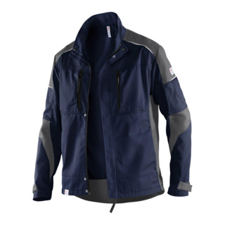 Kübler ActiviQ Jacke 1250 dunkelblau/anthrazit