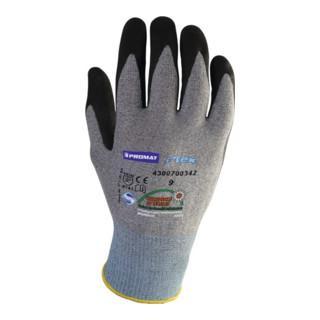 Industrial Quality Supplies Handschuhe HitFlex N Nitrilbeschichtung mit Noppen schwarz