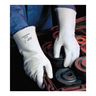 Ansell Handschuhe EN388/407 Kat. III Crusader Flex 42-474 Polyester/Baumwolle Nitril