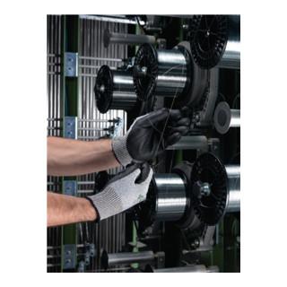 Ansell Handschuhe EN388 Kat. II HyFlex 11-435 Glasfaser Lycra Nylon mit PU schwarz