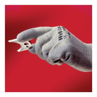 Ansell Handschuhe EN388 Kat. II HyFlex 11-630 Baumwolle Lycra Nylon Kevlar mit PU grau