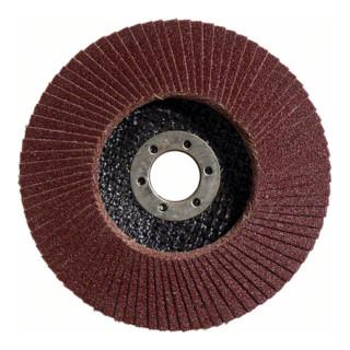 Bosch Fächerschleifscheibe X431 Standard for Metal, gerade, 115 mm, 60, Glasgewebe