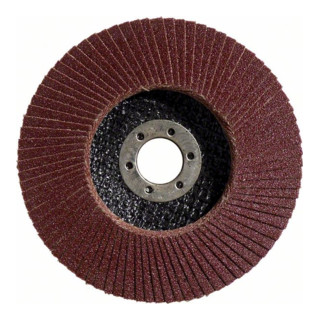 Bosch Fächerschleifscheibe X431 Standard for Metal, gerade, 115 mm, 120, Glasgewebe