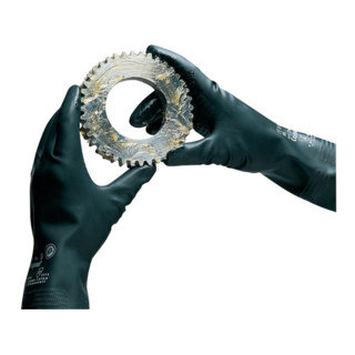 KCL Handschuhe Camapren 720 schwarz velourisiert