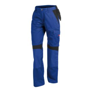 Kübler Inno Plus-Dress Hose 2956 kornblumenblau/schwarz Größe 48