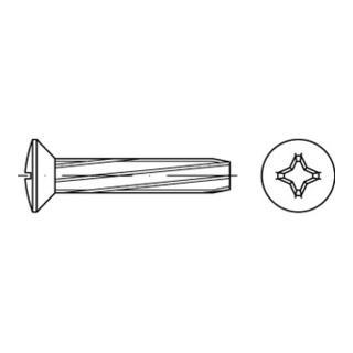 DIN 7516 Form E Linsensenkkopf-Gewindeschneidschraube VG