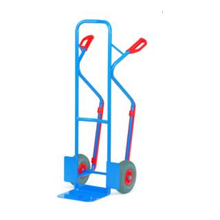 Fetra Stahlrohr-Sackkarre mit Gleitkufen bis 300kg