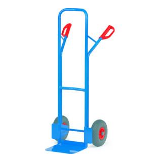 Fetra Stahlrohr-Sackkarre ohne Gleitkufen bis 300kg