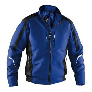 Kübler Wetter-Dress Jacke 1367 kornblumenblau/schwarz