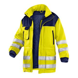 Kübler Wetter-Dress Jacke 1187 warngelb/dunkelblau