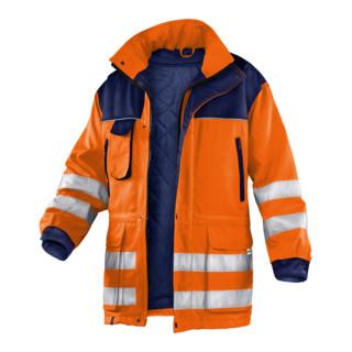 Kübler Wetter-Dress Jacke 1187 warnorange/dunkelblau