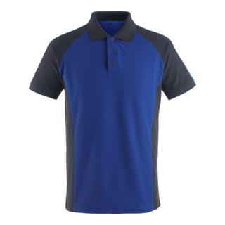 Mascot Polo-Shirt Bottrop Kornblau/Schwarzblau