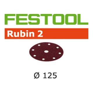 Festool Schleifscheiben STF D125/8 P180 RU2/50 Rubin 2