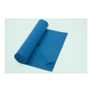 Deiss Premium Typ 100 -  Abfallsack 120l, blau (15 Stück/Rolle)