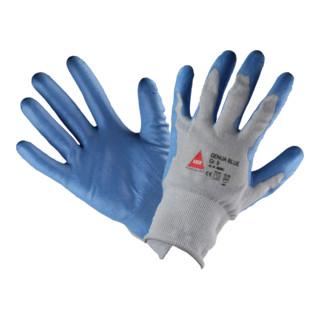 Hase Schnittschutzhandschuhe Genua Blue Hybridgarngestrick