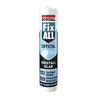 Soudal Dichtstoff Fix ALL® Crystal kristallklar