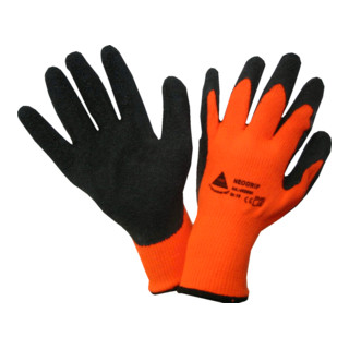 Hase Strickhandschuhe Neogrip-Orange Polyester