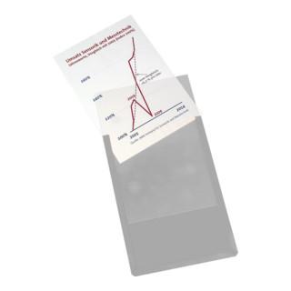 Eichner Magnet-Sichttasche aus Hart- PVC DIN A4...
