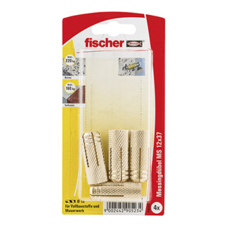 Fischer Messingdübel MS