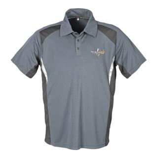 Terratrend Job Revolution Poloshirt schwarz/grau