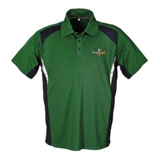 Terratrend Job Revolution Poloshirt grün/schwarz