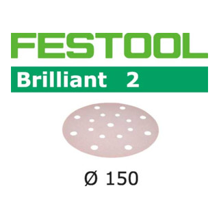 Festool Schleifscheiben STF D150/16 P320 BR2/10 Brilliant 2
