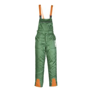 Canadian Line Schnittschutzlatzhose forstgrün orange