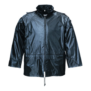 Terratrend Rainforce Regenjacke schwarz