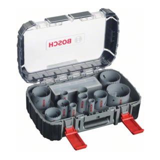 Bosch Lochsägen-Set HSS-Bimetall Universal, 17-teilig, 20 - 60, 68, 76 mm