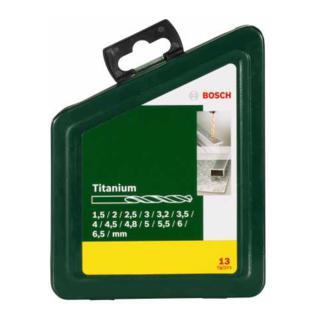 Bosch Metallbohrer-Set HSS-TiN