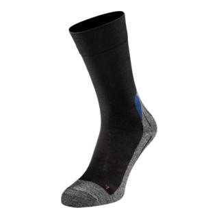 Atlas Workwear Funktionssocke schwarz/grau
