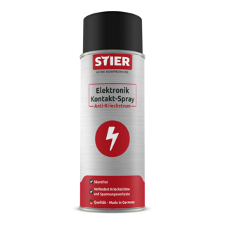 STIER Elektronik Kontakt-Spray Anti-Kriechstrom 400ml