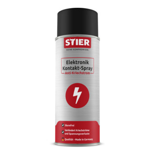 STIER Elektronik Kontakt-Spray Anti-Kriechstrom 400ml