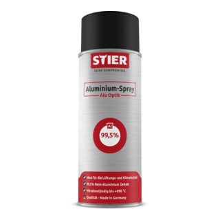Stier Aluminium-Spray Alu Optik 400ml