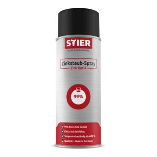 STIER Zinkstaub-Spray  zink optik
