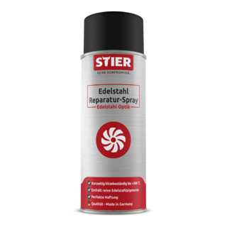 Stier Edelstahl Reparatur-Spray Edelstahl Optik 400ml