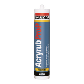 Soudal Maleracryl Acryrub Pro P Universal weiss 310 ml