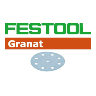 Festool Schleifscheiben STF D125/8 P360 GR/100 Granat