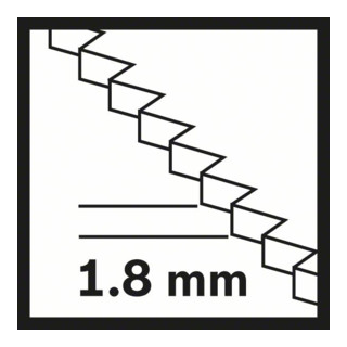 Bosch HCS Tauchsägeblatt SAIZ 32 BLC Wood 32 x 70 mm