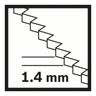 Bosch HCS Tauchsägeblatt SAIZ 32 EPC Wood 32 x 40 mm