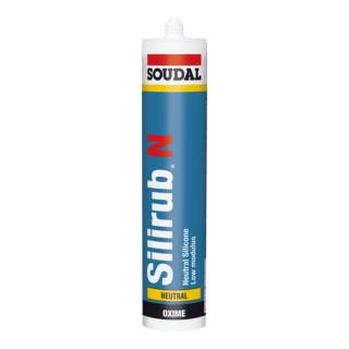 Soudal Neutralsilikon Silirub N grau 310 ml