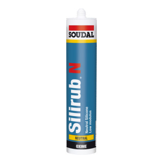 Soudal Neutralsilikon Silirub N transparent 310 ml