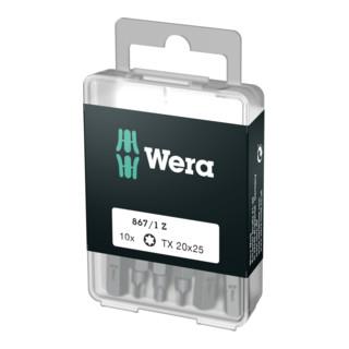 Wera 867/1 Z TORX® Bits 10 x, Länge 25 mm