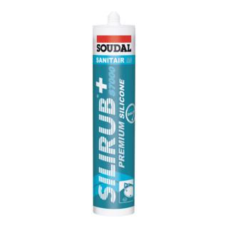 Soudal Fliesensilikon Silirub+ S7000 weiß 310 ml