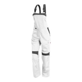 Kübler Inno Plus-Dress Latzhose 3856 weiss/anthrazit