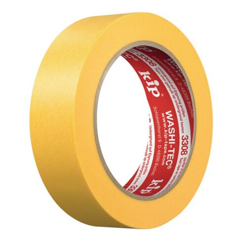 Abdeckband 3308 WASHI-TEC® Premium PLUS glatt gelb L.50m B.18mm Rl.KIP