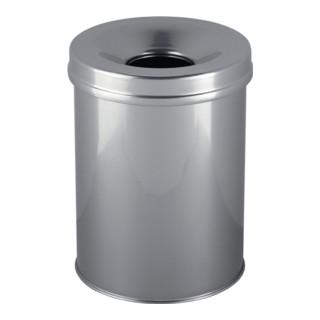Abfallbehälter m. Flammlöschkopf